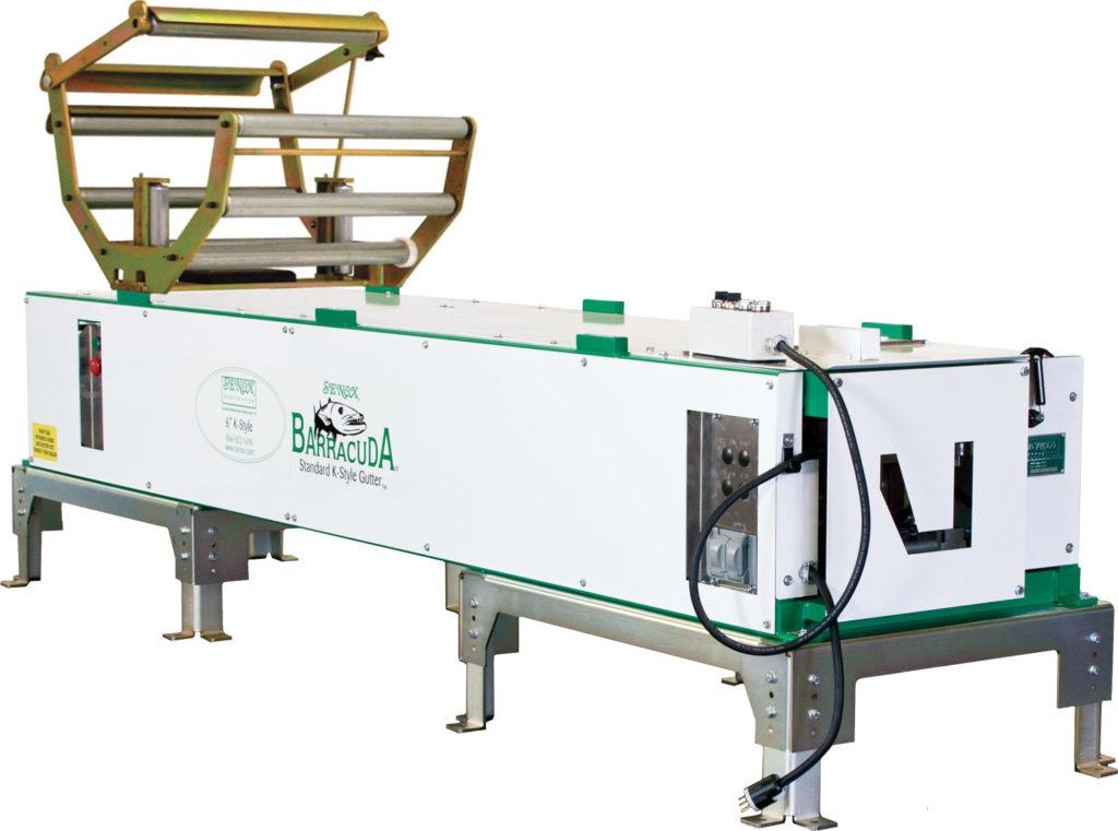 Commercial Box Gutter Machine Loveless Gutter Gutter